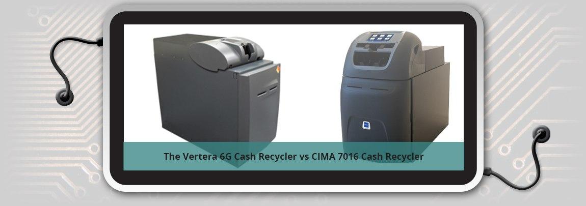 Glory Vertera 6G Cash Recycler vs CIMA 7016 Cash Recycler