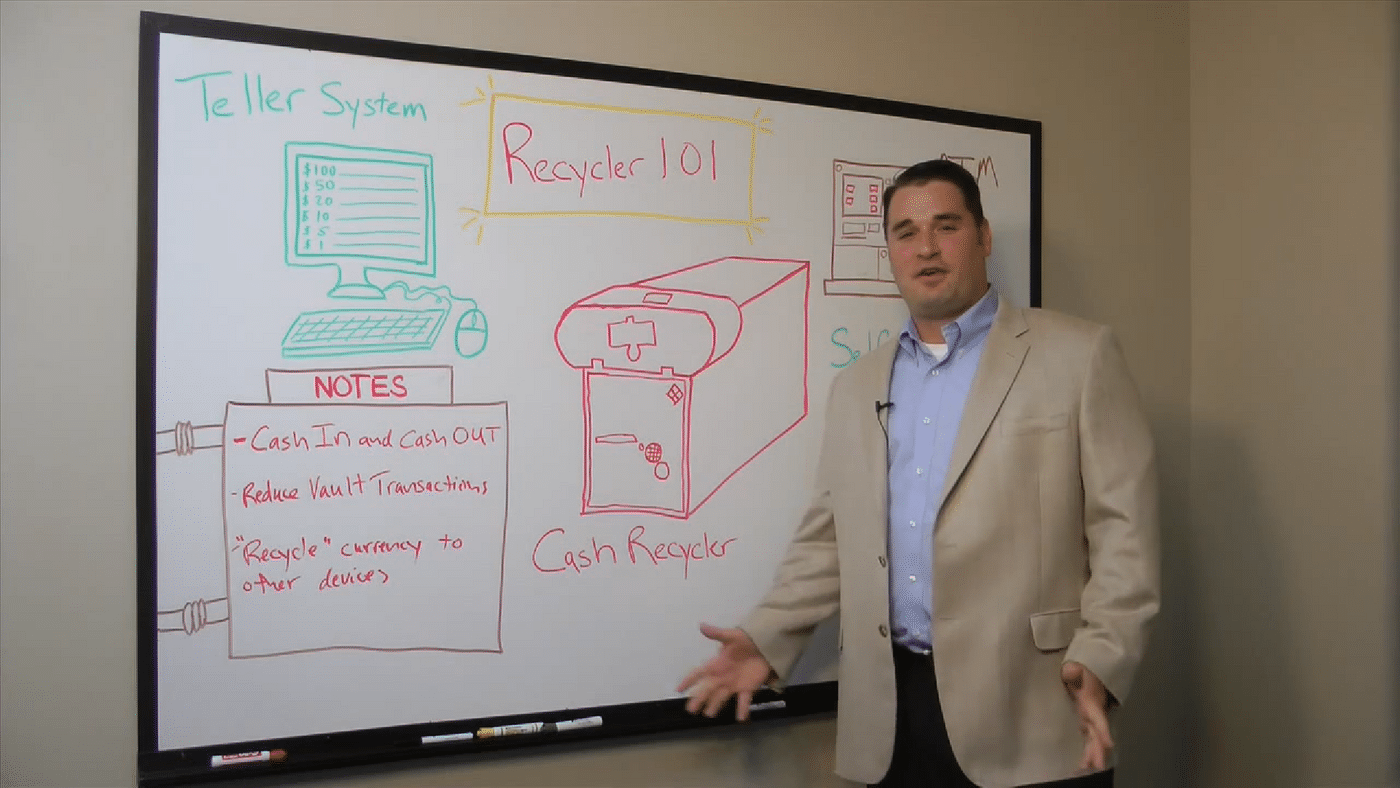 White Board Vidoes: Episode 1 - Cash Recycler 101
